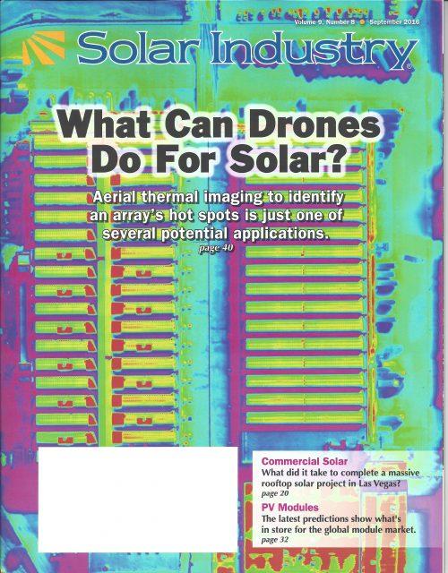 Solar Industry Magazine September 2016